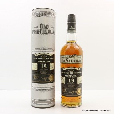 Mortlach 2004 13 Year Old Ace of Spades Old Particular