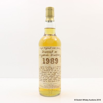 Clynelish 1989 23 Year Old The Whiskyman