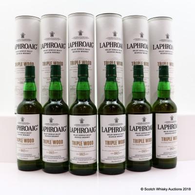 Laphroaig Triple Wood 6 x 70cl