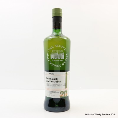 SMWS 29.213 Laphroaig 1996 20 Year Old