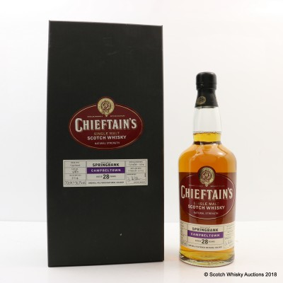 Springbank 1974 28 Year Old Chieftain's