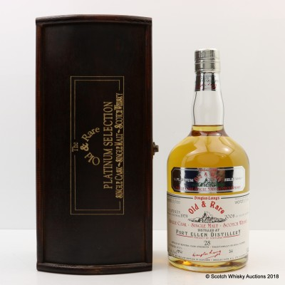 Port Ellen 1979 28 Year Old Old & Rare