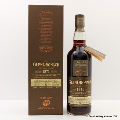 GlenDronach 1971 42 Year Old Single Cask #1246