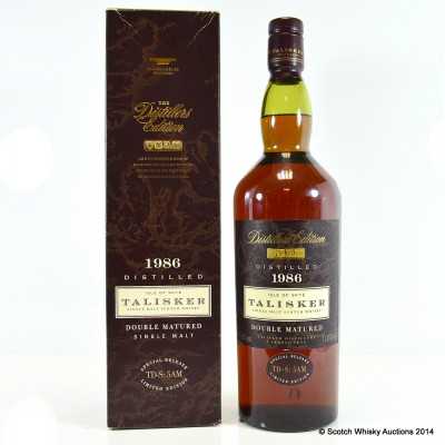Talisker 1986 Distillers Edition 1L