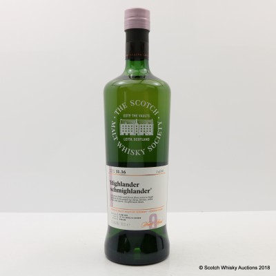 SMWS 11.36 Tomatin 2008 9 Year Old