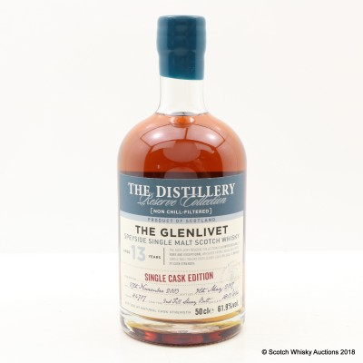 Glenlivet 2003 13 Year Old Distillery Reserve Collection 50cl