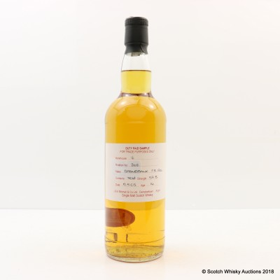Springbank 2003 14 Year Old Duty Paid Sample