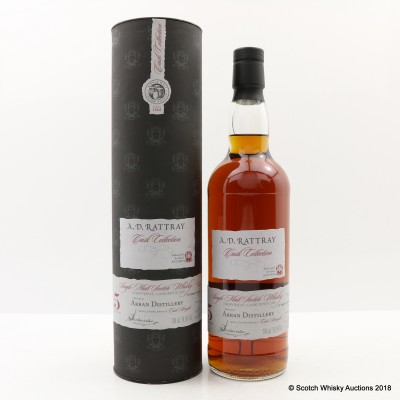Arran 2011 5 Year Old A.D. Rattray Cask #005