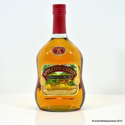 Appleton Estate Jamaica Rum 5 Year Old