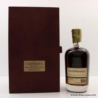 GlenDronach 1968 44 Year Old Recherche