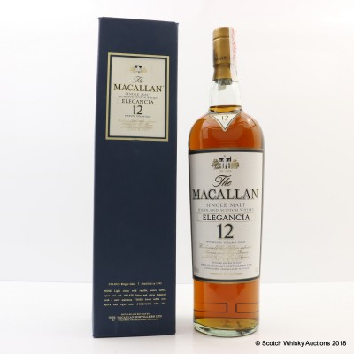 Macallan 12 Year Old Elegancia 1L