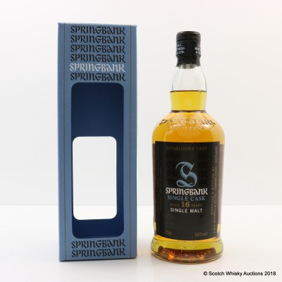Springbank 1997 16 Year Old Madeira Wood