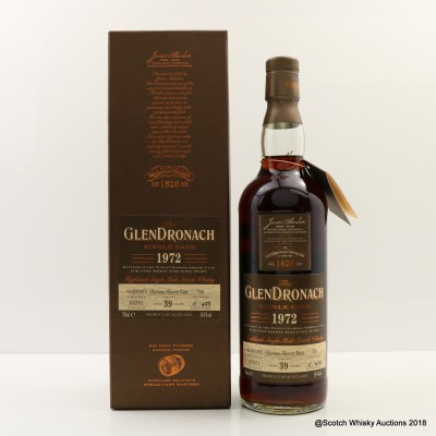 GlenDronach 1972 39 Year Old Single Cask #716
