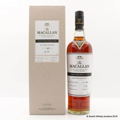 Macallan 2005 Exceptional Cask #09 2017 Release