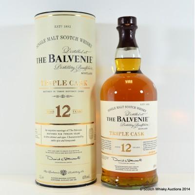 Balvenie Triple Cask 12 Year Old 1L