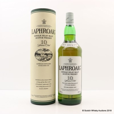 Laphroaig 10 Year Old 1L