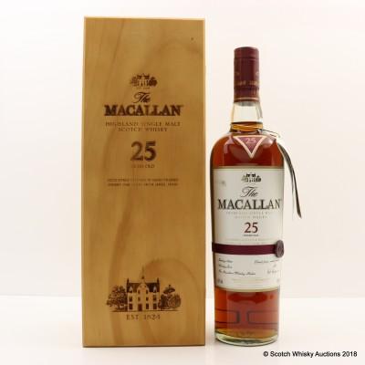 Macallan 25 Year Old