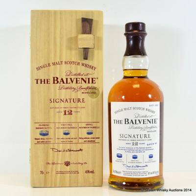Balvenie Signature 12 Year Old Batch #4 In Wooden Box