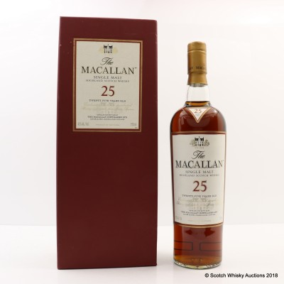 Macallan 25 Year Old 75cl