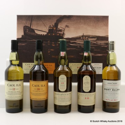 Classic Islay Collection 2007 Release 5 x 20cl