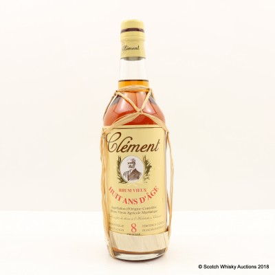 Clement 8 Year Old Rhum Agricole