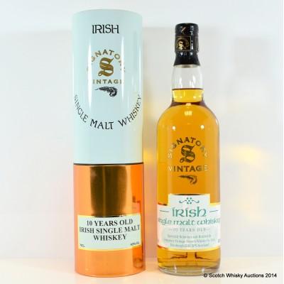 Signatory Irish Single Malt 10 Year Old