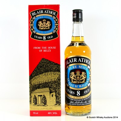 Blair Athol 8 Year Old 75cl