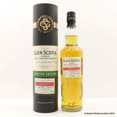 Glen Scotia 2006 Distillery Edition Single Cask #67