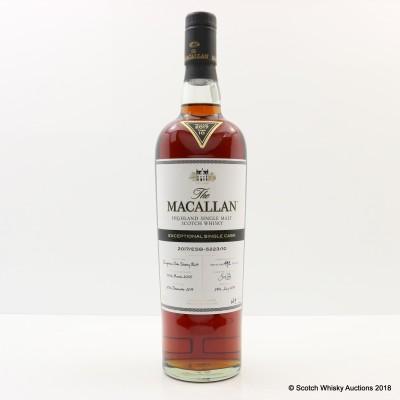Macallan 2005 Exceptional Cask #10 2017 Release