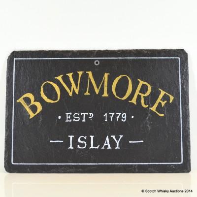 Whisky Slate - Bowmore