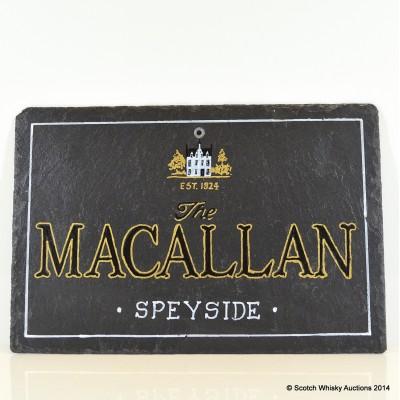 Whisky Slate - Macallan