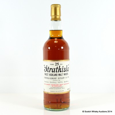 Strathisla 25 Year Old G&M