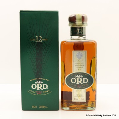 Glen Ord 12 Year Old Old Style