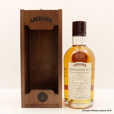 Aberlour 1985 23 Year Old Warehouse No 1 Single Cask Selection