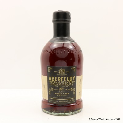 Aberfeldy 1999 Hand Filled Cask #20658