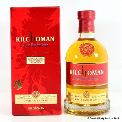 Kilchoman Single Cask Whisky Import Netherland