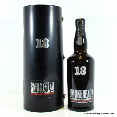 Smokehead Extra Black 18 Year Old