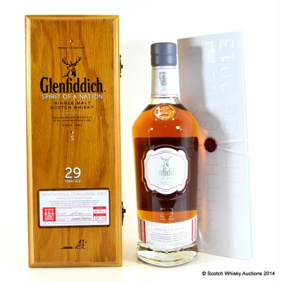 Glenfiddich Spirit Of A Nation 1984 29 Year Old