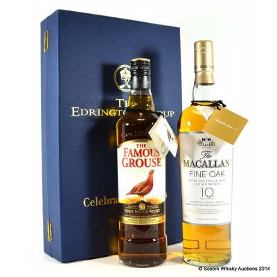 Edrington Group Celebrating Success Famous Grouse & Macallan Fine Oak 10 Year Old