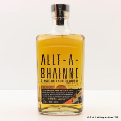 Allt-A-Bhainne Just Enough Peat To Start A Fire