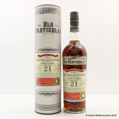 Speyside 1996 21 Year Old Old Particular
