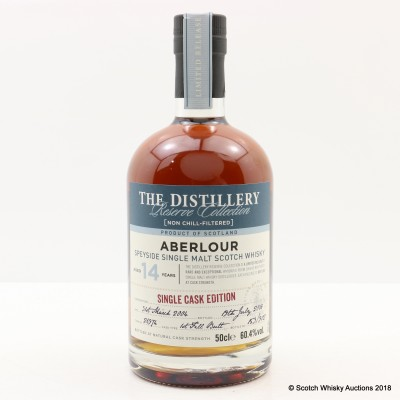 Aberlour 2004 14 Year Old Distillery Reserve Collcetion