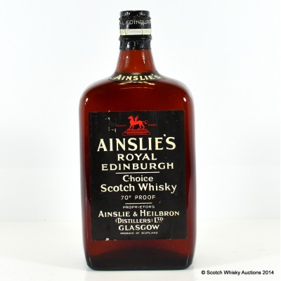 Ainslie's Royal Edinburgh 70° Proof Spring Cap