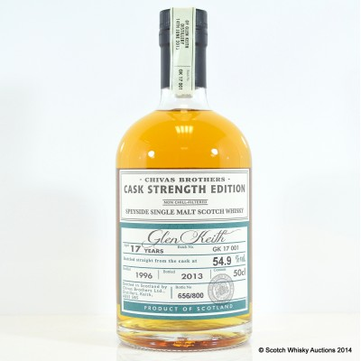 Glen Keith Reopening 1996 17 Year Old 50cl