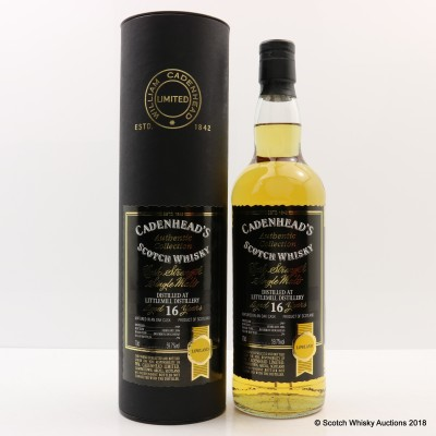 Littlemill 1989 16 Year Old Cadenhead's