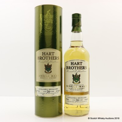 Littlemill 1984 20 Year Old Hart Brothers 75cl