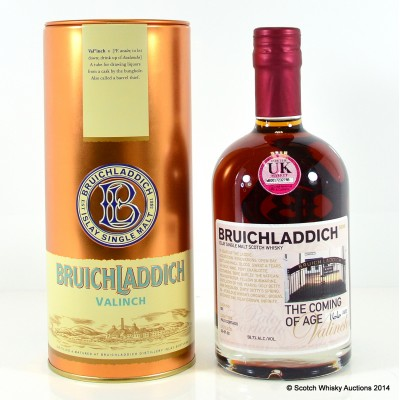 Bruichladdich Valinch Coming Of Age 50cl