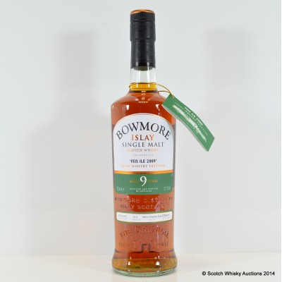 Bowmore Feis Ile 2009 9 Year Old
