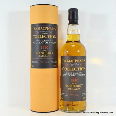 Glenturrent 1990 MacPhail's Collection