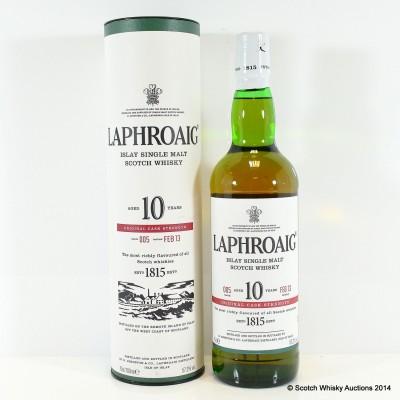 Laphroaig Cask Strength 10 Year Old Batch #5
